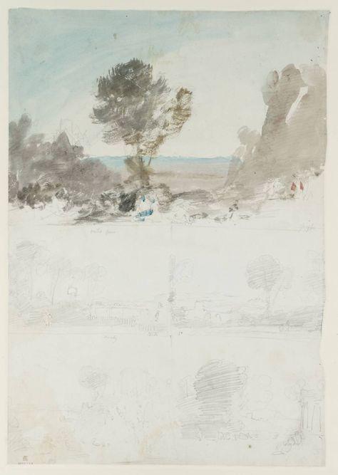 Joseph Mallord William Turner.  Watercolour @Abbey Adique-Alarcon Adique-Alarcon Adique-Alarcon Browne