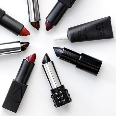 Dark #lipstick is in this season. Find your perfect shade of burgundy, deep purple, or even black. #Sephora #lips