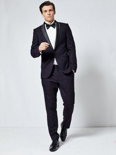 Gdzie Kupic Perfekcyjny Garnitur Na Studniowke Slim Fit Tuxedo Tuxedo Suit Suits