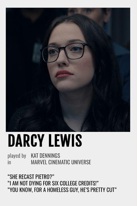 Darcy Lewis Polaroid Poster