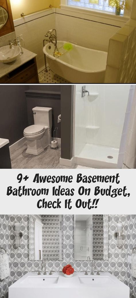 9+ awesome basement bathroom ideas on budget, check it out! - Ideas - New Ideas#awesome #basement #bathroom #budget #check #ideas