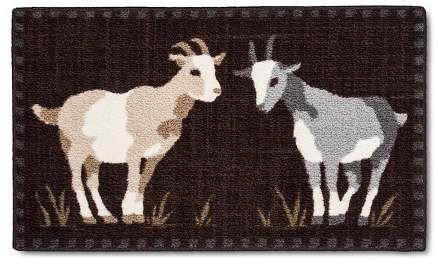 farmhouse goat decor on Pin On Kitchen