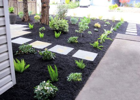 25 Mid Century Modern Landscape Design Ideas You Ll Love Mulch Landscaping Gravel Landscaping Front Yard Landscaping
