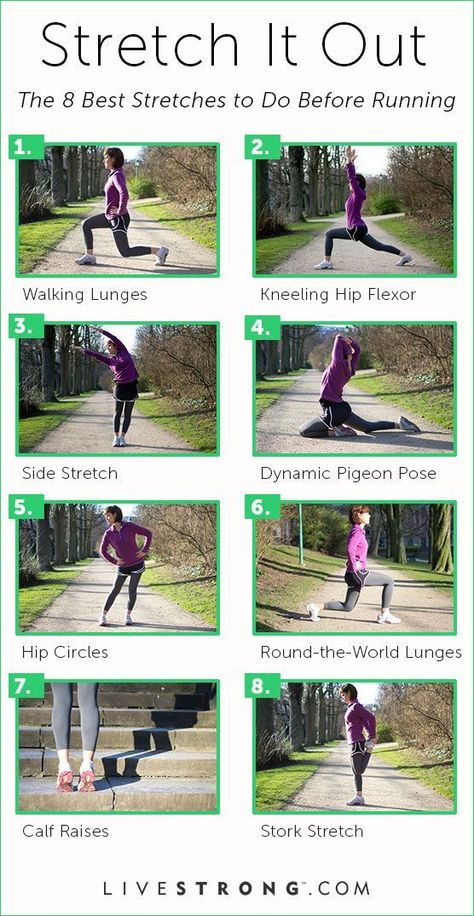 Stretch it Out: The 8 Best Stretches for Your Pre-Run Routine   LIVESTRONG.COM