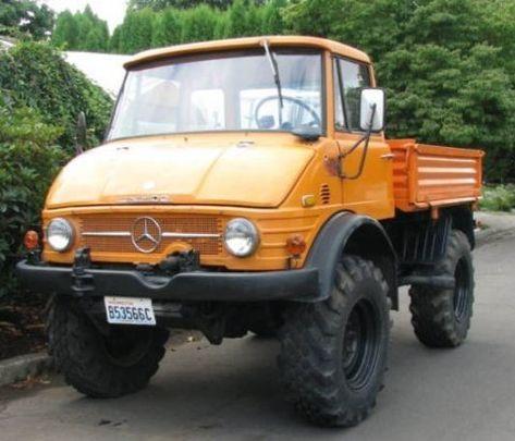 1973 Unimog 406 4x4 | Unimog, Mercedes benz unimog ...