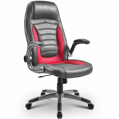 Ad Ebay Url High Back Office Chair Gaming Racing Swivel Task Desk Adjustable Seat Arms Office Chair High Back Office Chair Red Office Chair