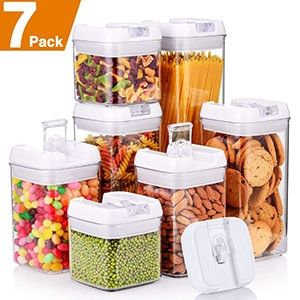 Top 10 Best Airtight Pop Container Set In 2018 Reviews Tenbestproduct Food Storage Containers Plastic Airtight Food Storage Food Storage