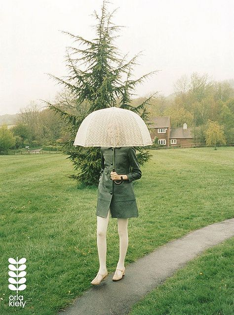 Seattle rain style for spring: Nimue Smit for Orla Kiely Fall 2012 by Venetia Scott