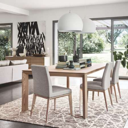 Shown In Ash Natural Denver Cord Dining Room Design Dining