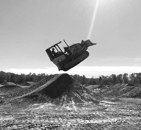 Image result for huge bulldozer forest black and white