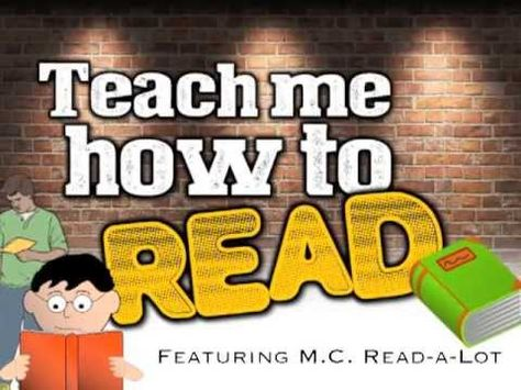 Teach Me How to Read (rap song for kids about reading/ABC's) - YouTube