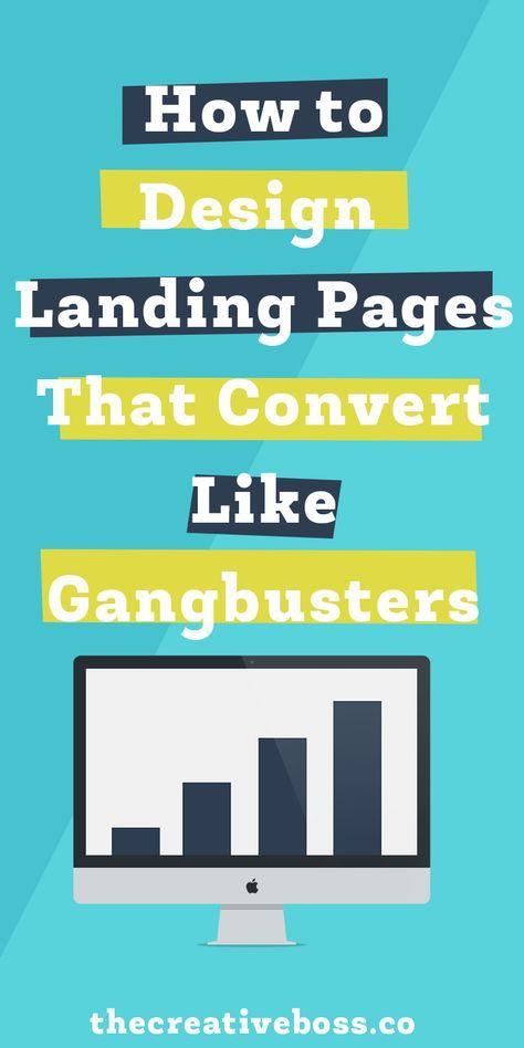 How To Design Landing Pages That Convert Like Gangbusters The Creative Boss Web Design And Branding Spec Landing Pages That Convert Landing Page Web Design Diamo una marcia in più alle aziende ed ai professionisti per aumentare la visibilità online attraverso i social e il web. pinterest