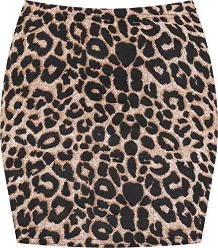 Pin Pa Jupes Leopard