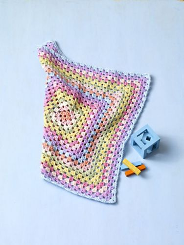 Ravelry: Rainbow Blankie pattern by Lion Brand Yarn
