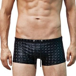 Swim Trunks Fashion Men Breathable Pants Solid Swimwear Beach Shorts Slim Wear