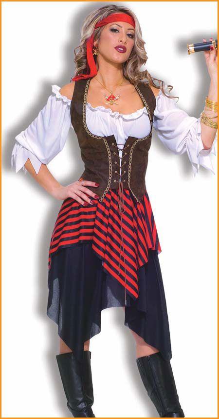 Sweet Buccaneer Adult Pirate Costume