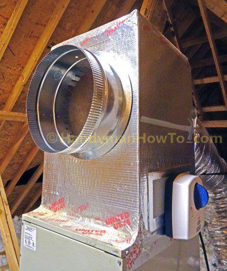 Sheet Metal Start Collar Installation: Duct Board Plenum