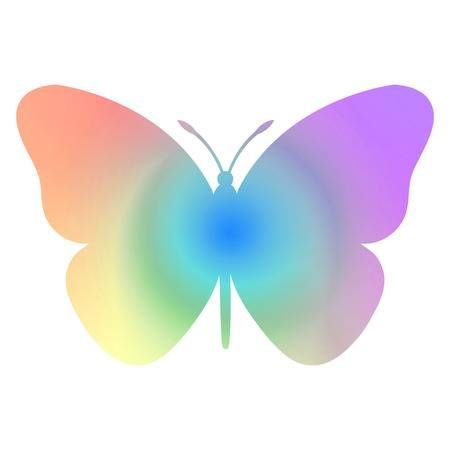 Rainbow Butterfly Tattoo Rainbow Tattoos Colorful Butterfly