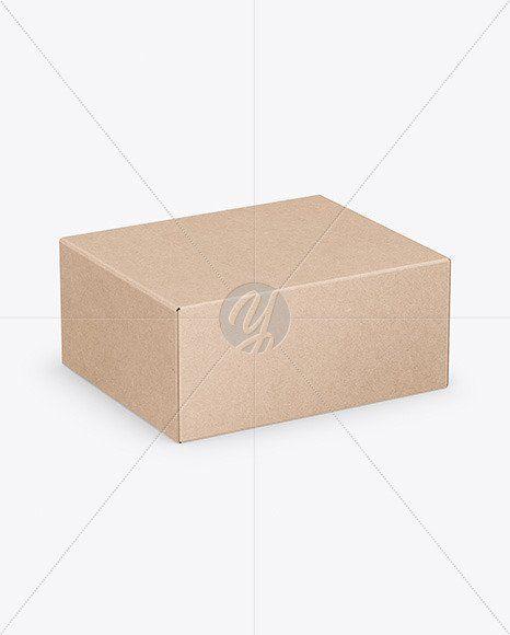 Download Box Packaging Mockup Free Matte Cosmetic Jar With Box Mockup In Jar Mockups On Yellow Images Box Mockup Kraft Boxes Cosmetic Jars