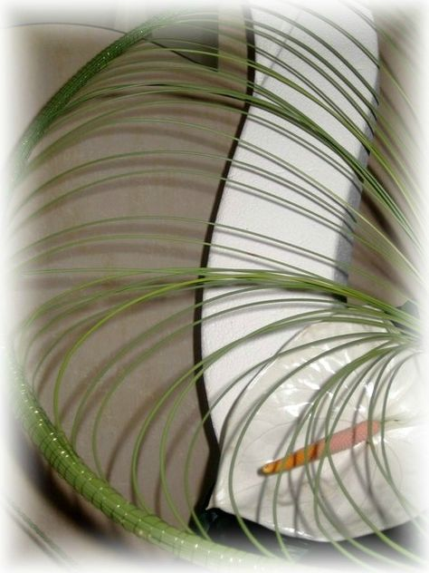 Art Floral Flexigrass En Volutes Clo S Bricolages Art Floral