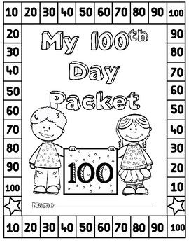 100th Day Activities Kindergarten 100s Day 100th Day