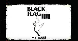 Image Result For Black Flag Pettibon Flyer Black Flag Flag Flyer