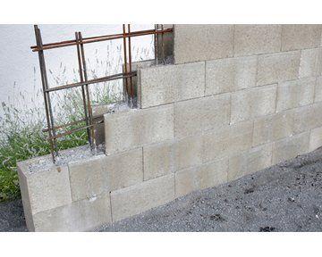 Schalungsstein Grau 50 Cm X 25 Cm X 24 5 Cm Kaufen Bei Obi Schalung Garten Beton Mauersysteme