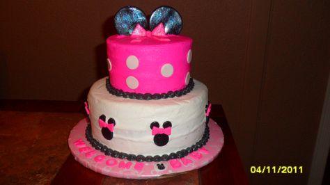 Mini Cake Tutorial | mini mouse cake — Children's Birthday Cakes