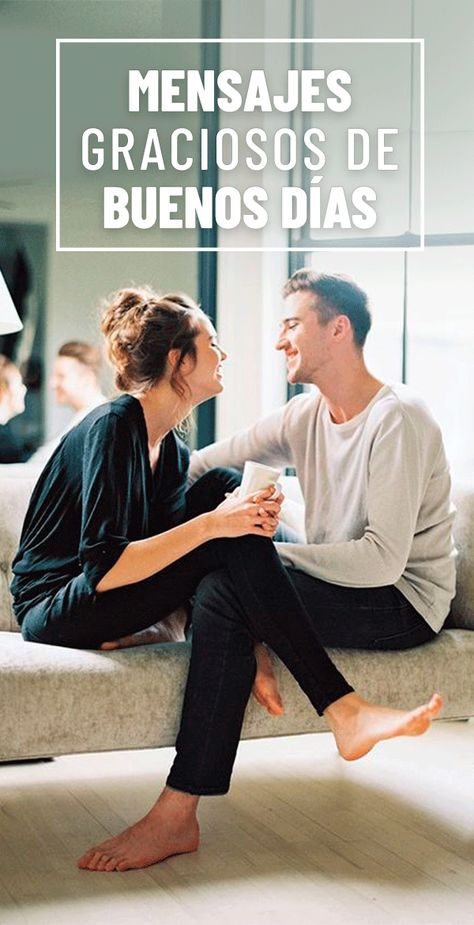 Tener sentido del humor es uno de los ingredientes secretos de una vida satisfactoria en pareja. Especialmente si se trata de amor hay que tener altas dosis de buen humor. Reír siempre te ayudará a disfrutar más la compañía de tu chica especial, así que para agregarle una chispa de humor a tu vida amorosa, ahora te dejamos las mejores frases graciosas que puedes usar para desearle buenos días y despertarla con una gran sonrisa. #buenosdias #frasesdeamor #amor #frases #mensajesdeamor