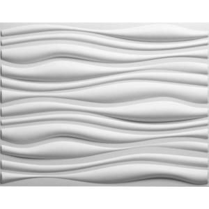 Ekena Millwork 1 7 8 In X 11 7 8 In X 11 7 8 In Pvc White Sellek Endurawall Decorative 3d Wall In 2021 Wall Paneling Textured Wall Panels Wainscoting Wall Paneling