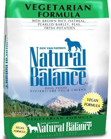 Natural Balance Vegetarian Formula Dry Dog Food 28 Pound Natural