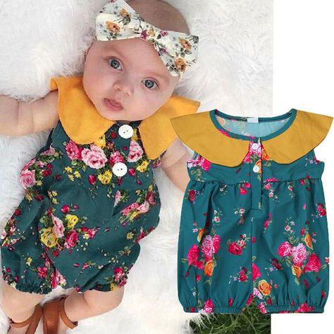 BABYPREM Baby Girls Clothes Babies Dresses Headband Pants Dress Set Outfit NB-6m