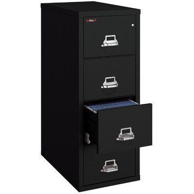 Fireking Fireproof 4 Drawer Vertical File Cabinet Filing Cabinet