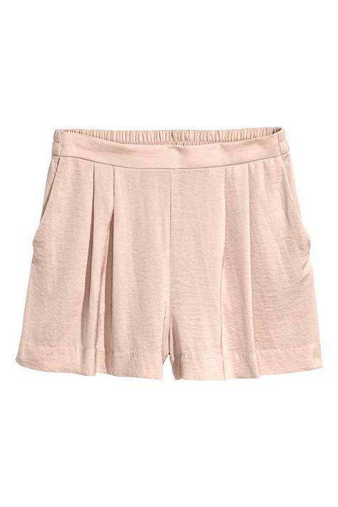 Pantalón corto holgado - Color maquillaje - MUJER  98740eecfac