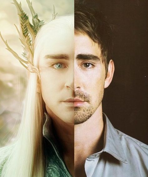 Lee Pace as Thranduil, the Elf King in LOTR's The Hobbit trilogy