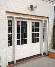 French Glass Garage Doors garage conversion brick exterior |  : affordable garage door