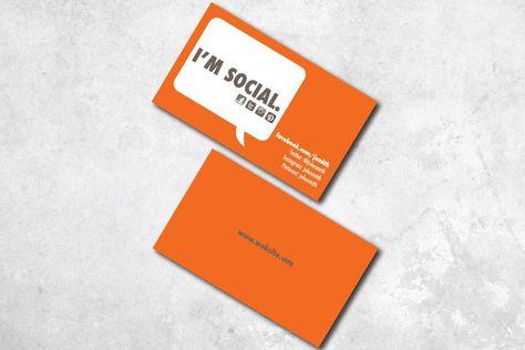 I'm Social Business Card