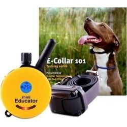 Educator By E Collar Technologies Mini 1 2 Mile E Collar Remote Dog Training Collar 1 Dog All Shop At Home In 2020 Dog Training Collar Training Collar Dog Training