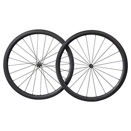 Imust Aero Road Bike Wheelset 40mm Deep 700c Carbon Fiber Clincher
