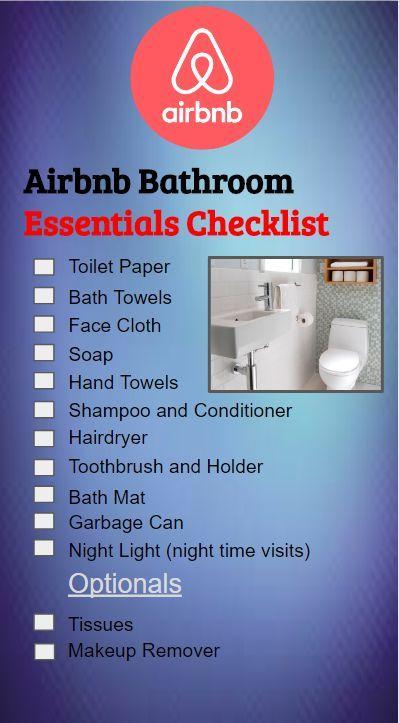 Bathroom Essentials Checklist | Bathroom Design