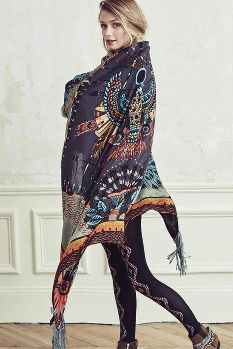 many fashionable unique design the latest LOVE le grand foulard signé Amenapih pour Hipanema sur ...