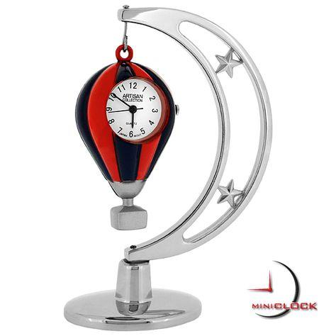 FISHING ROD /& REEL  MINIATURE w// FISH COLLECTIBLE MINI CLOCK GIFT