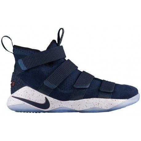 Discount Kids Nike Shoes Nike Lebron Soldier 11 Men S Basketball Shoes James Lebron College Navy Cool Grey Black Sku 97644401 Jordan Basketball Shoes Girls Basketball Shoes Nike Shoes Outfits