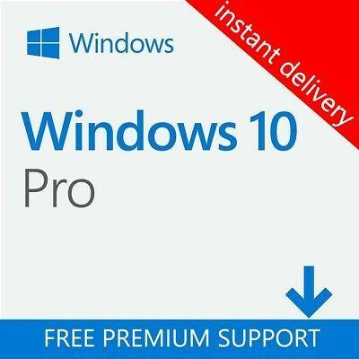 Ebay Link Ad Windows 10 Pro 32 And 64 Bit License Key In 2020 Windows 10 Windows About Windows 10