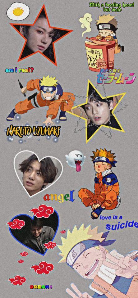 خلفيات جونغكوك ناروتو Naruto Wallpaper Funny Iphone Wallpaper Naruto