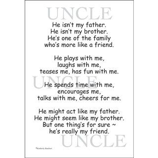 Uncle Scrapbook Stickers | Quotes & Stickers for Scrapbooking - Greeting Cards & Gifts