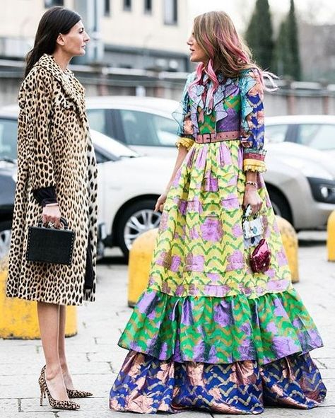 Photographer Sandra Semburg captures the best looks on the street for us, at Milan Fashion Week Fall/Winter