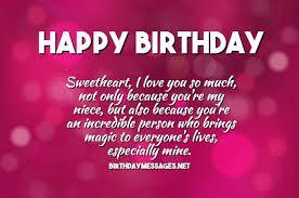 Birthday Quotes Wishes Happy Birthday Niece Wishes Happy Birthday Quotes Birthday Wishes Quotes