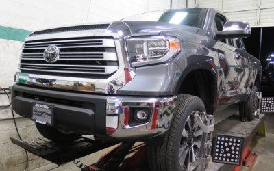 Toyota Tundra In For Readylift Leveling Kit And An Alignment Toyota Tundra Vehicles Tundra
