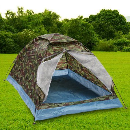 Outdoor Folding Camping Tent Oxford Cloth Carry Bag Hiking Traveling Camping
